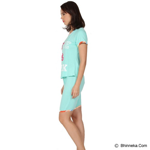 YOU'VE Pinku Love Sleepwear set Size XL [841] - Mint - Baju Tidur Wanita Setelan